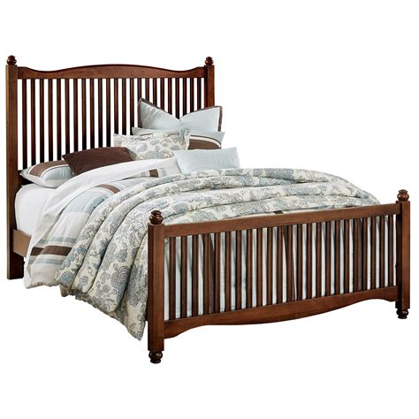 solid wood queen bed vaughan bassett american maple solid wood queen slat bed dunk bright furniture