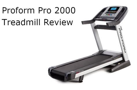 proform pro  treadmill review autumn damask