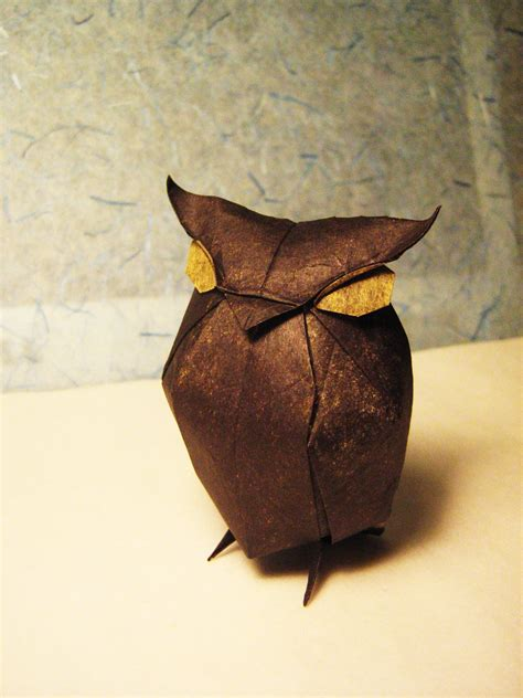 Paper Owl Origami - origami owl by lexar on deviantart