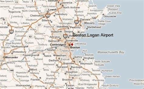 boston logan airport map boston logan airport location guide