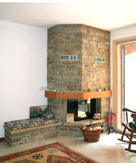 interno camino il fascino e la semplicit 224 della pietra naturale in edilizia