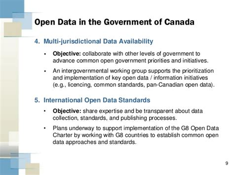 Government Of Canada Mba by Treasury Board Of Canada Open Government Open Data In