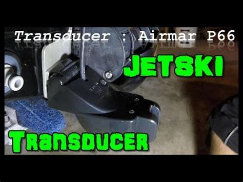 yamaha jet boat depth finder how to mount transducer on jetski without drilling holes