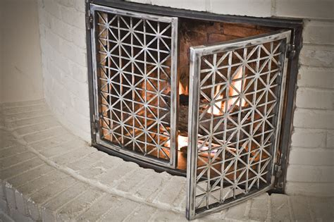 modern fireplace doors fireplace doors contemporary indoor fireplaces