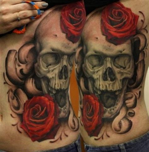 ugly rose tattoo 25 best ideas about skull tattoos on