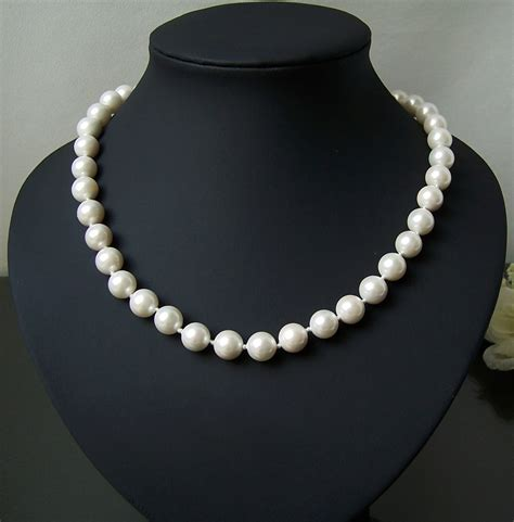 perlen ohrringe hochzeit perlenkette perlen armband ohrringe muschelkernperlen