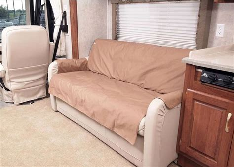 rv sofa slipcovers rv sofa covers rv slipcovers and dinette autos post