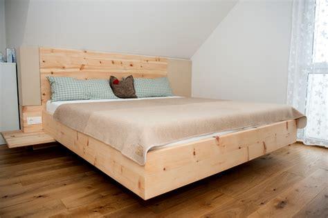 bett zirbenholz m 246 bel aus zirbenholz tischler manfred strantz burgenland