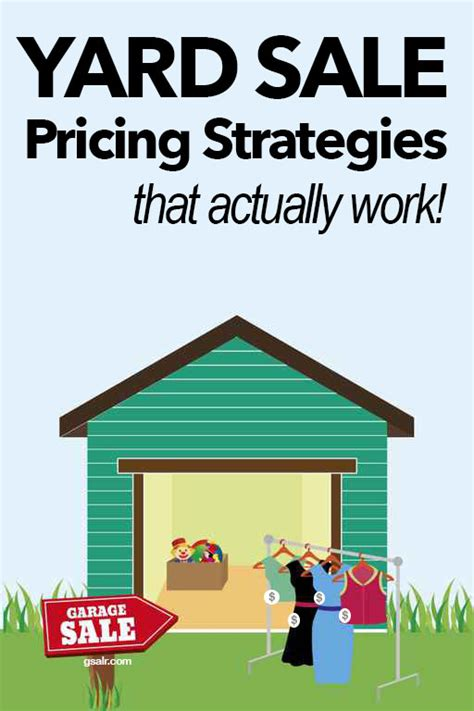 yard sale pricing tips that you don t want to miss garage sale blog