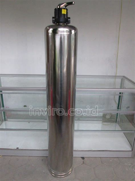 Tabung Filter Air Stainless Tabung Media Stainless Steel 10 Quot 1054 Model 3 Way Valve