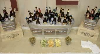 30th birthday bash beer tasting party ideas pear tree