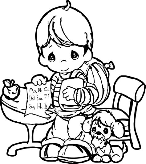 Precious Moments Coloring Pages Easter by Precious Moments Coloring Page Make Write Sheet Precious