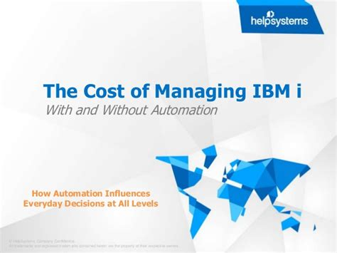 the cost of managing ibm i without automation