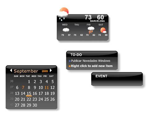 calendario para escritorio windows 7 descargar calendario para escritorio