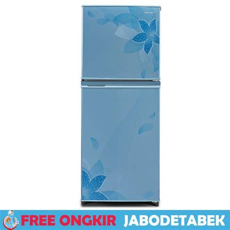 Lemari Es Khusus Minuman jual kulkas lemari es 2 pintu sharp sj 236nd fb free