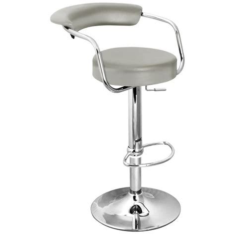 Grey Bar Stools With Arms by Zenith Bar Stool With Arms Grey Size X 370mm X 390mm