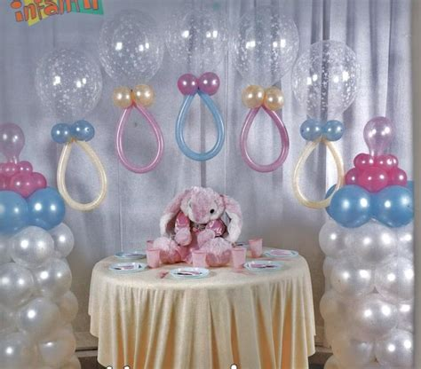 Ideas De Baby Shower by Opinas De 233 Sta Idea De Decoraci 243 N Con Globos Para Un Baby