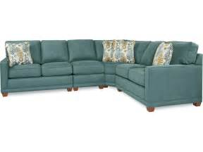 la z boy living room kennedy sectional 593 sectional