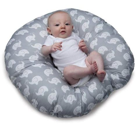 boppy pillow in crib boppy newborn lounger
