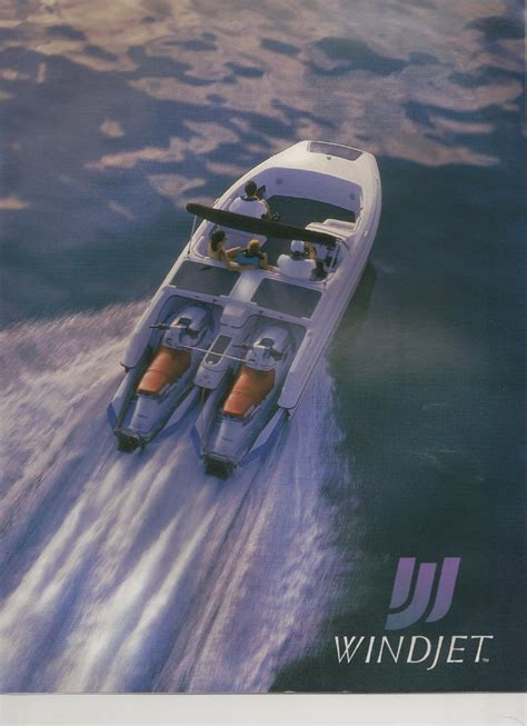 windjet jet ski boat wind jet seadoo boats project collectibles the coin