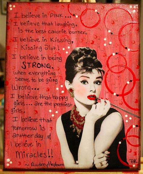 Fashion Quotes Pink Quotesgram I Believe In Pink Hepburn Fashion Quotes Quotesgram