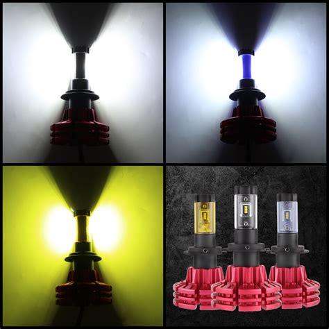 led light bulbs to replace halogen nighteye h7 led headlight light bulbs set replace halogen