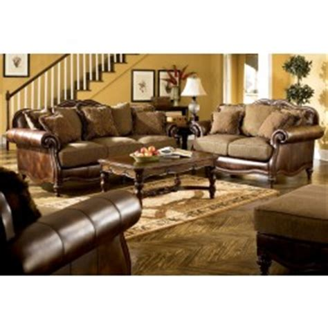 claremore antique living room set claremore antique living room set from ashley 84303