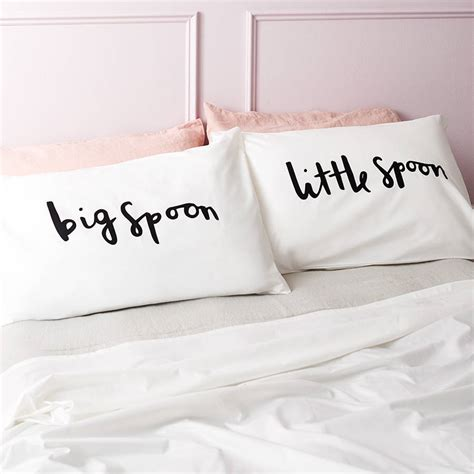 big spoon spoon pillow cases by