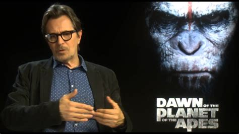 gary oldman youtube interview gary oldman interview dawn of the planet of the apes