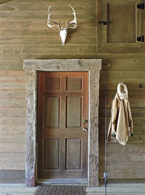 garbee architecture pllc rustic door frame