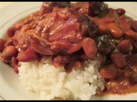 slow cooked beans and ham hocks youtube