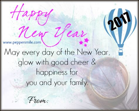 how to write new year greeting happy new year greeting card