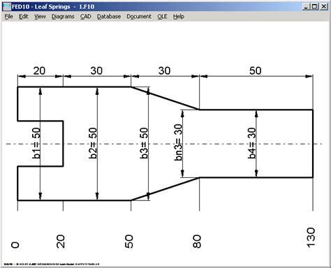 scale drawing program fed10 leaf software