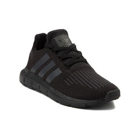 youth adidas run athletic shoe black 1436411