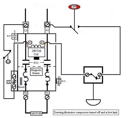 air compressor wiring diagram 3 phase periodic