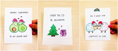 Diy Christmas Gift Cards - diy christmas gifts for boyfriend affordable and cool craft ideas