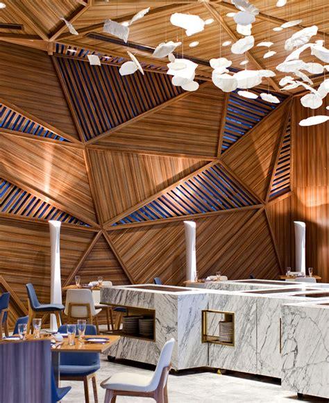 tampilan mewah desain interior restoran yue desain