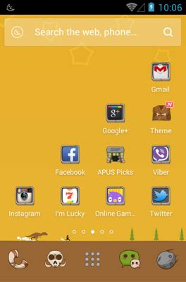 the stone age android theme for apus launcher