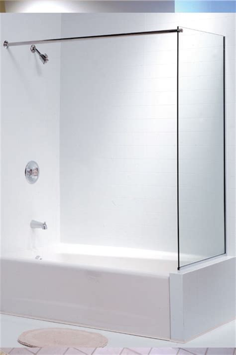 glass bathtub enclosures oasis tub enclosure spray panel contemporary shower