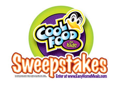 Sweepstakes For Kids - cool food for kids sweepstakes