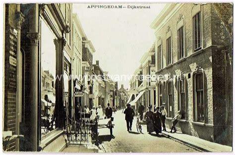 Oud Appingedam by Oude Foto S Appingedam Fotokaart Dijkstraat In 1917 150239