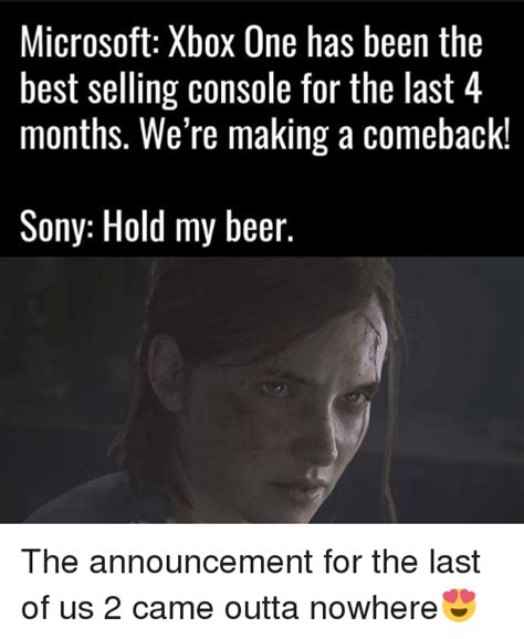 The Last Of Us Memes - funny hold my beer memes of 2017 on sizzle