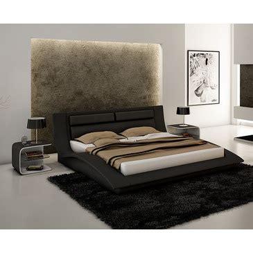 wave bedroom set j m furniture wave 3 piece platform bedroom set in black