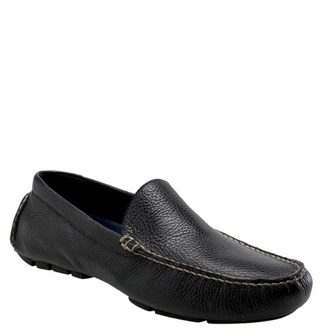 black polo loafers polo ralph terrence loafer in black for lyst