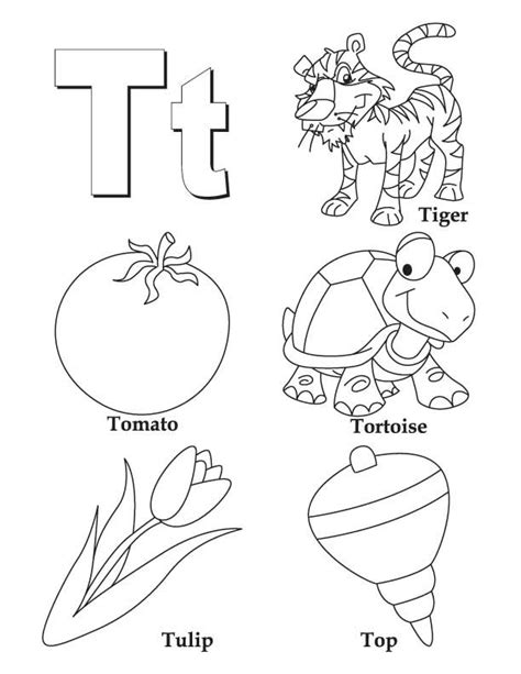 alphabet coloring pages a z coloring home