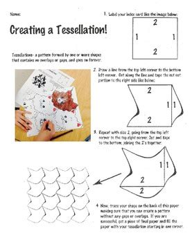 pattern in art lesson plan elementary art lesson tessellation lesson plan by teach