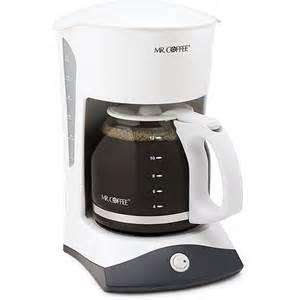 coffee pot walmart mr coffee sk12 coffee maker white walmart
