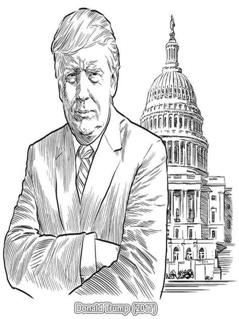coloring pages of united states presidents images download