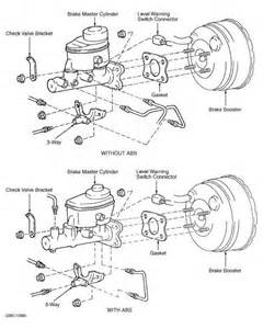Check Brake System Toyota Rav4 Note Proportioning Valve And Bypass Valve Removal And