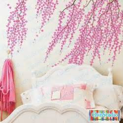 Baby Nursery Wall Stickers Tree cherry blossom tree wall decal for living room vinyl by